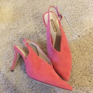 Brand new pink vince Camuto heels